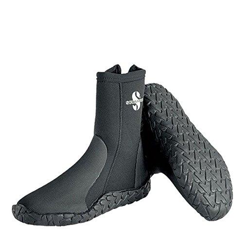 Bare 5 Mm Boot - Scubapro Unisex 5mm Delta Scuba Dive Boots - Black, Size - 10