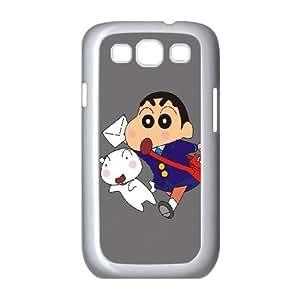 Crayon Shin-chan Samsung Galaxy S3 9300 Cell Phone Case White UI8309874