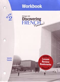Amazon discovering french nouveau rouge 3 workbook discovering french nouveau workbook with lesson review bookmarks level 2 fandeluxe Images