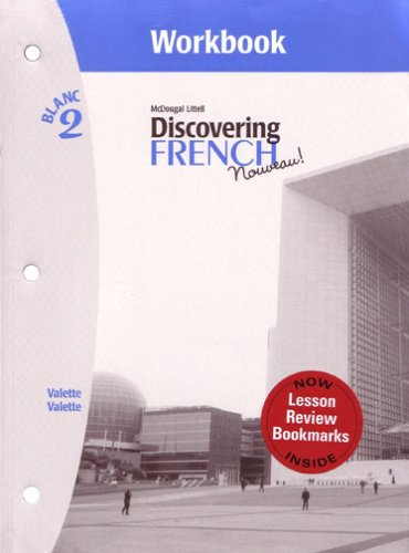 Discovering French, Nouveau!: Workbook with Lesson Review Bookmarks Level 2