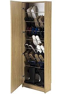 Habitdesign 007866C - Armario zapatero con espejo, color ...