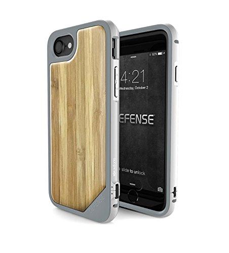 X-Doria Étui pour iPhone 7 avec Bois réel Bamboo