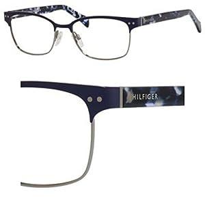 New Tommy Hilfiger Eyeglasses THF TH 1306 VJD 5217 Rectangle 52 MM Glasses