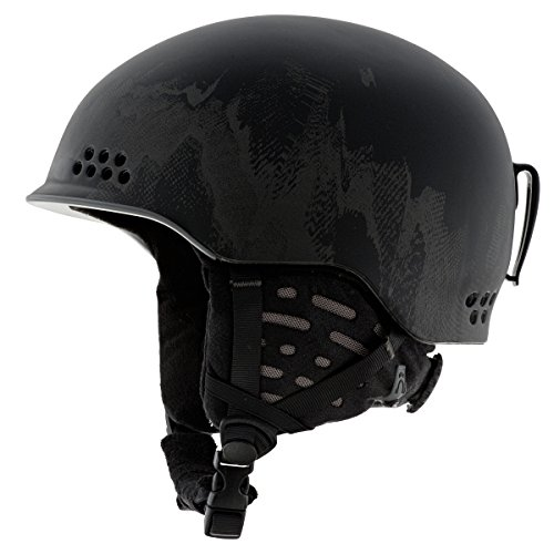 K2 Rival Pro Ski Helmet, Black, Small