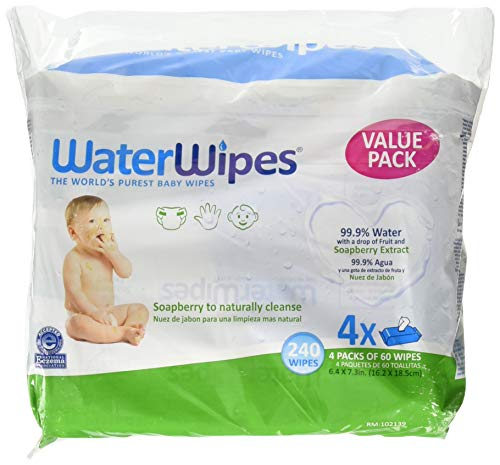 Waterwipes Hand Face Baby Wipes with Soapberry