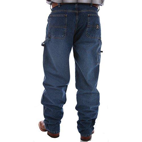 Cinch Apparel Mens Blue Label Carpenter Medium Stonewashed Jeans 34x38 Medium Stone Sandblast