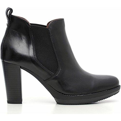 De Nero Vestir Zapatos Piel Para Mujer Caracas Giardini qzzgwE