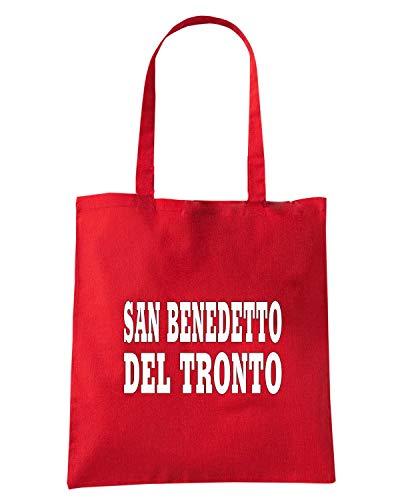 Borsa Shopper Rossa WC0923 SAN BENEDETTO DEL TRONTO ITALIA