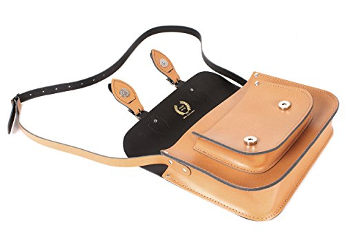 Oxbridge Satchel Shop, Borsa a secchiello donna Tenné small