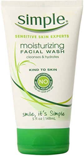 Simple Moist Face Wash Size 5z Simple Moist Face Wash 5z