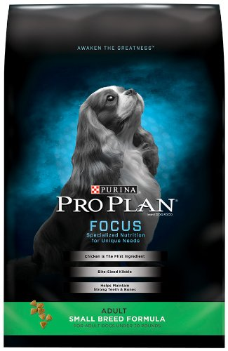 Purina Pro Plan Small Breed Dry Dog Food; FOCUS Small Breed Formula - 18 lb. Bag