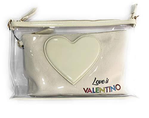 Cm Handbags Glass Bolso Crudo Valentino 33x21x5 CvA7Awqz
