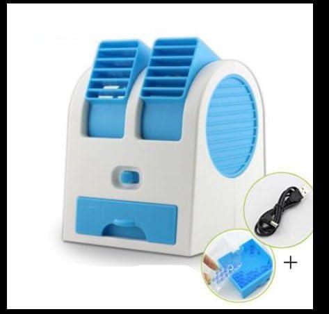 Fenaire Acondicionado Mini Ventilador Ventilador Pequeño Spray ...