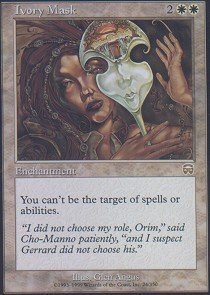 Magic: the Gathering - Ivory Mask - Mercadian Masques