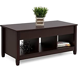 Best Choice Products Lift Top Coffee Table