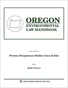 the environmental law handbook