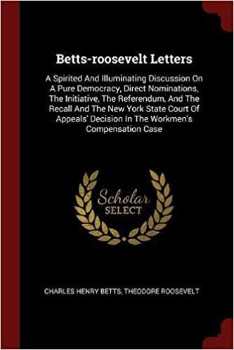betts roosevelt letters a spirited and illuminating discussion on a
