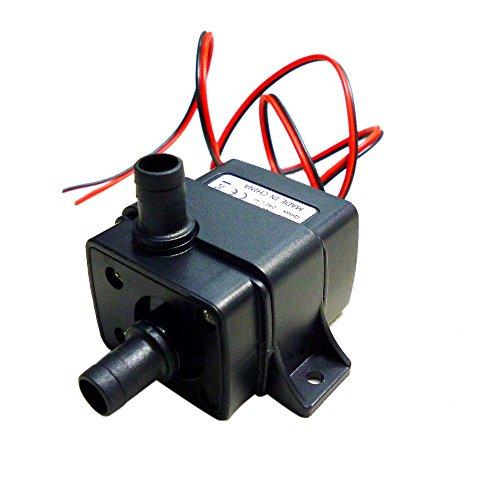 - 12V 4.2W Mini Brushless Submersible Water Pump Fountain Flowerpot Fish Tank Aquarium Pumps Low Consumption