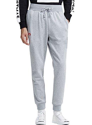 meters-bonwe-mens-drawstring-wasit-solid-color-jogger-pants-with-pockets-grey-m