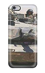 New Arrival PSGRdtu489HeTIT Premium Case For Iphone 6 Plus (5.5 Inch) Cover Case(tank)