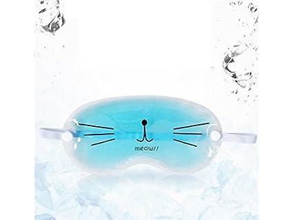 Máscara de hielo La máscara del ojo del gel que refresca linda de la historieta alivia