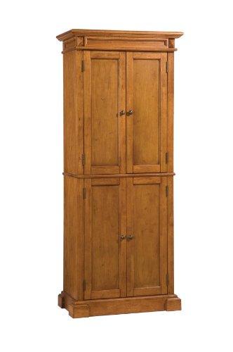 Home Styles 5004-69 Americana Pantry Storage Cabinet, Distressed Oak Finish