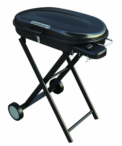 Cuisinart CGG-440 Portable Gas Grill with Rolling Cart, Outdoor Stuffs