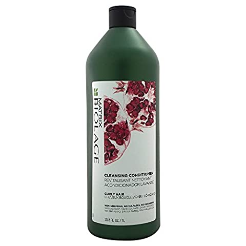 Matrix Biolage Cleansing Conditioner for Curly Hair, 33.8 Ounce (Matrix Biolage Conditioning)