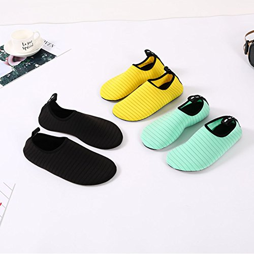 Surf Quick Dry Socks Pool Water Skin Men's Beach JIASUQI Stripe Barefoot Black Swim for Shoes Exercise Yoga Aqua Women's HXBFIqI6