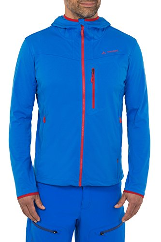 VAUDE Men's Durance Hooded Jacket, Hydro Blue, X-Large from VAUDE