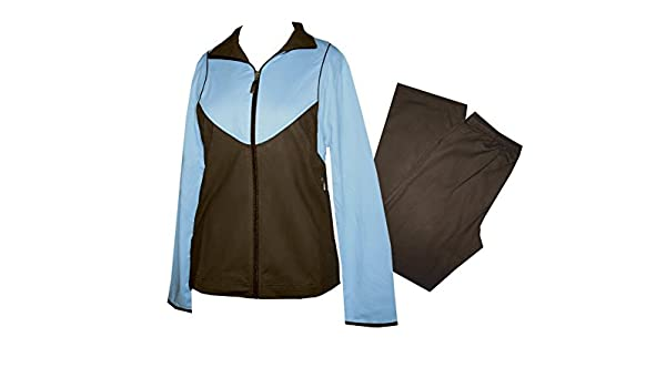 Schneider Sportswear - Chándal - para mujer sky/braun: Amazon.es ...