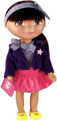Fisher-Price Dora The Explorer Dress Up Collection School Time Fashion