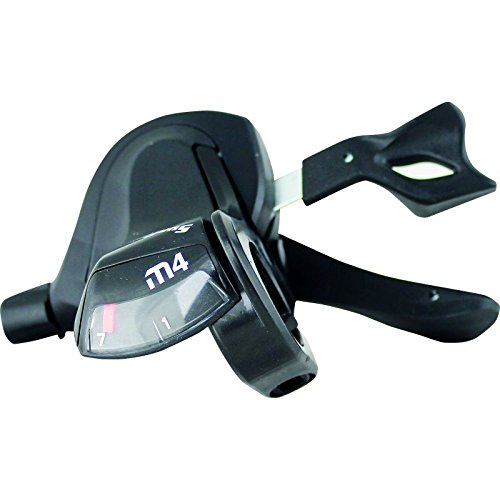 Sunrace Mando Derecho Trigger 7V Palanca de Cambio, Negro, M FGA Distribuciones SR-DLM400.R700.0S0.HP