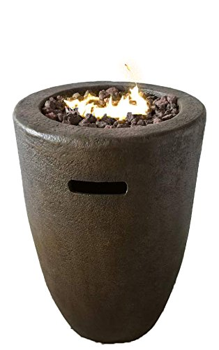 RTS Home Accents Propane Fire Column, Sandlewood