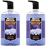 Alpine X-treme Shockwave Hydrating 3in1 Face + Hair + Body Wash for an active lifestyle 28fl oz (pack of 2)