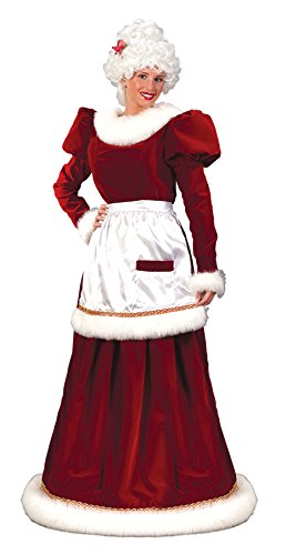 Halloween FX Santa Mrs. Velvet Dress (Medium-Large)]()