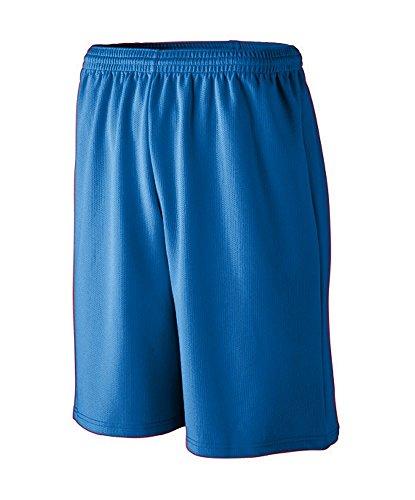 Augusta Sportswear Mens longer Length Wicking Mesh Athletic Short, Royal, XX-Large Augusta Sportswear Mesh Shorts