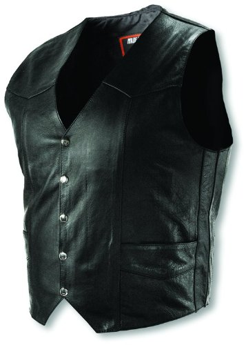 Interstate Leather Tall Men's Basic Vest (Large)