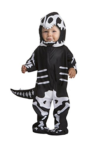 [T-Rex Skeleton Infant Costume, 3-4T] (Weather Themed Halloween Costumes)