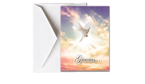 Amazon.com : Tarjetas Funerales de Agradecimiento, Tarjetas ...