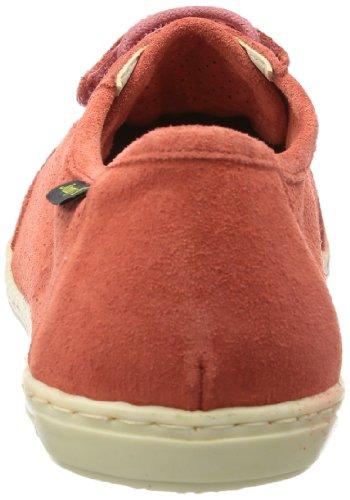 de Zapatos S Rojo Sida cordones Jonny's Rot 7352 mujer cuero Coral para de tRwqYg