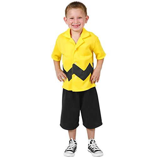 Boy's Charlie Brown Halloween Costume (Small 4-6) ()