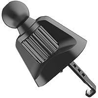 Car vent phone holder base,Never fall down hook phone mount base,Adjustable hook base universal for 17mm diameter ball…