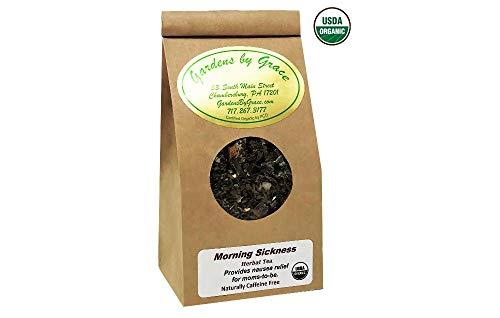 (Morning Sickness | Nausea, Cramps, Headache Relief | Reduces Heartburn, Bloating, Constipation, Gas, Irritability | Caffeine-Free, Vegan, Non-GMO | 2 oz)