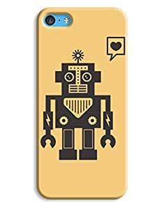 Bettie the Robot Case for your iPhone 5C