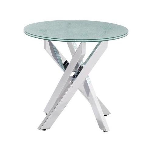 Table Side Modern Zuo (Zuo Stance Side Table Crackled)
