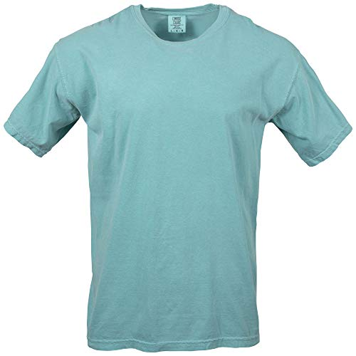 Comfort Colors Men's Adult Short Sleeve Tee, Style 1717, Seafoam, Small