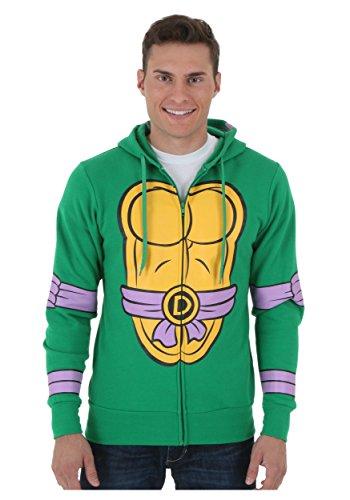 Teenage Mutant Ninja Turtles - I Am Donetello Costume Zip (Donetello Ninja Turtle)