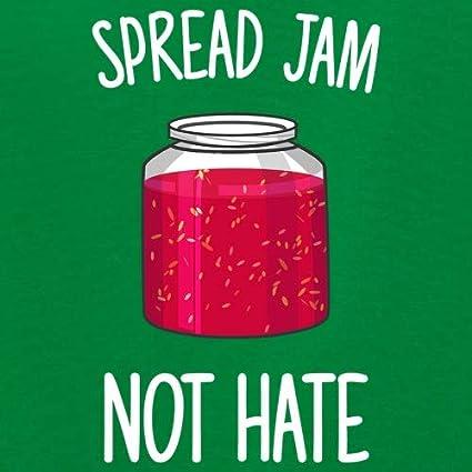 Kids Hoodie Spread Jam Not Hate 9 Colours 1-13 Years
