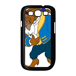 Samsung Galaxy S3 9300 Cell Phone Case Black Beauty and the Beast Character Beast